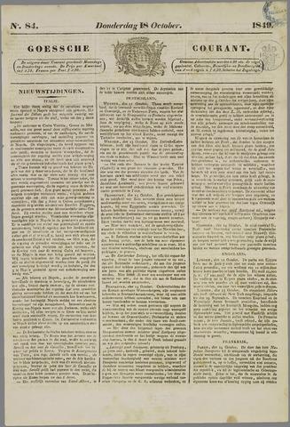 Goessche Courant 1849-10-18