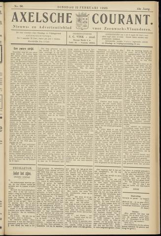 Axelsche Courant 1929-02-12