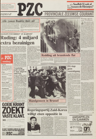 Provinciale Zeeuwse Courant 1987-06-30