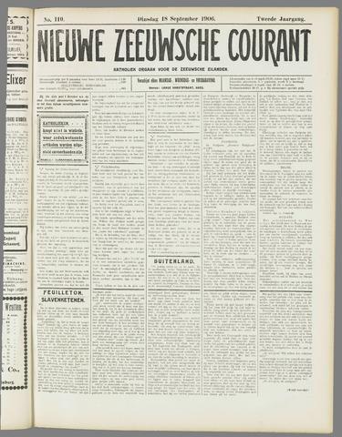 Nieuwe Zeeuwsche Courant 1906-09-18