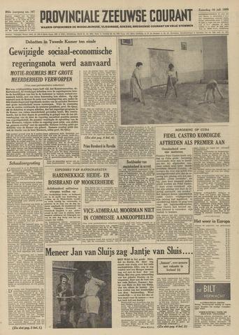 Provinciale Zeeuwse Courant 1959-07-18