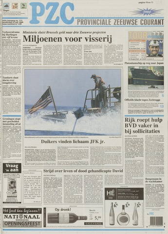 Provinciale Zeeuwse Courant 1999-07-22