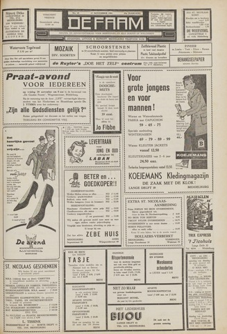 de Faam en de Faam/de Vlissinger 1961-11-17