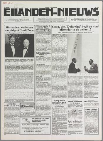 Eilanden-nieuws. Christelijk streekblad op gereformeerde grondslag 1990-10-02