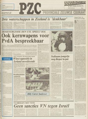 Provinciale Zeeuwse Courant 1981-06-13