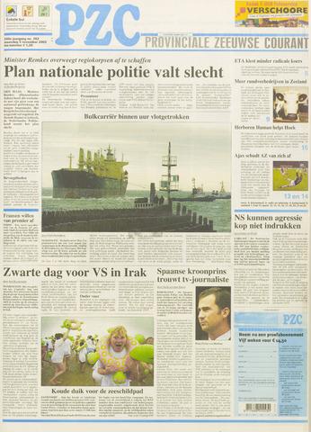 Provinciale Zeeuwse Courant 2003-11-03