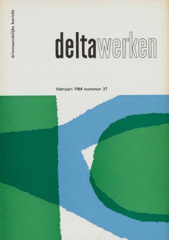 Driemaandelijks bericht Deltawerken 1964-02-01