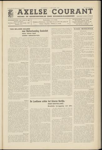 Axelsche Courant 1962-10-13