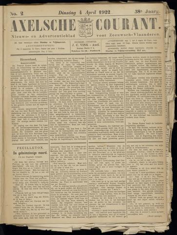 Axelsche Courant 1922-04-04