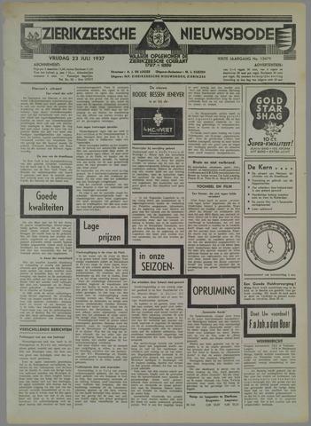 Zierikzeesche Nieuwsbode 1937-07-23