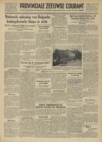 Provinciale Zeeuwse Courant 1950-04-21