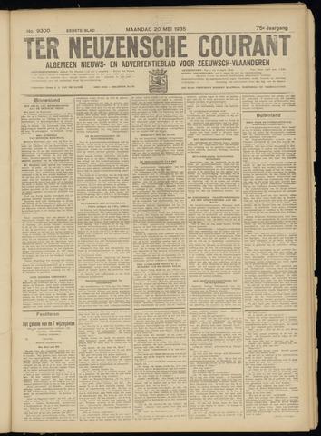 Ter Neuzensche Courant. Algemeen Nieuws- en Advertentieblad voor Zeeuwsch-Vlaanderen / Neuzensche Courant ... (idem) / (Algemeen) nieuws en advertentieblad voor Zeeuwsch-Vlaanderen 1935-05-20
