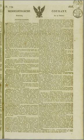 Middelburgsche Courant 1825-10-27