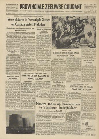 Provinciale Zeeuwse Courant 1954-10-18