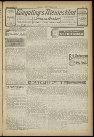 Zeeuwsch Nieuwsblad/Wegeling's Nieuwsblad 1929-09-06
