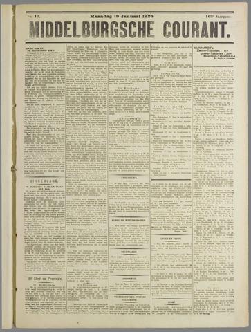 Middelburgsche Courant 1925-01-19