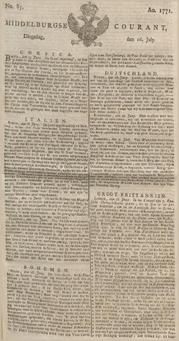 Middelburgsche Courant 1771-07-16