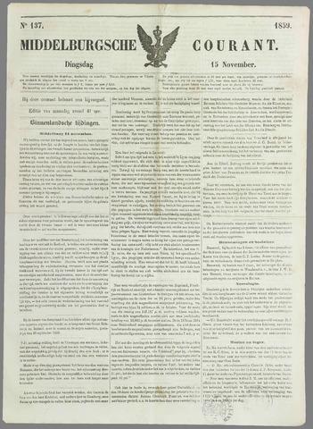 Middelburgsche Courant 1859-11-15