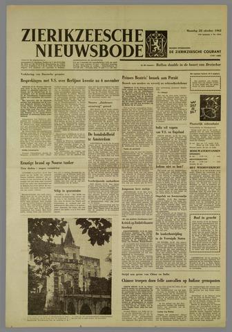 Zierikzeesche Nieuwsbode 1962-10-22