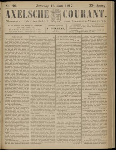 Axelsche Courant 1917-06-16