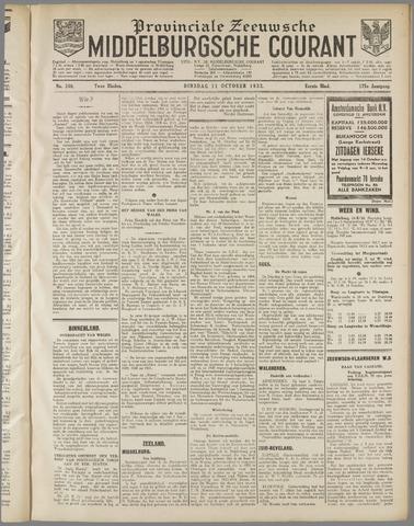 Middelburgsche Courant 1932-10-11