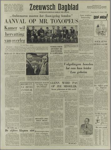 Zeeuwsch Dagblad 1962-02-22
