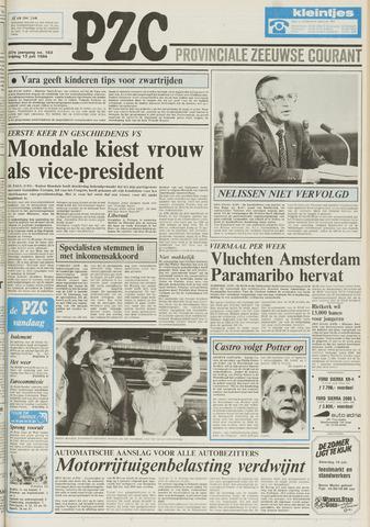 Provinciale Zeeuwse Courant 1984-07-13