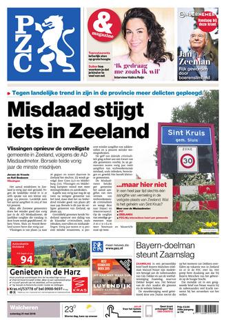 Provinciale Zeeuwse Courant 2016-05-21