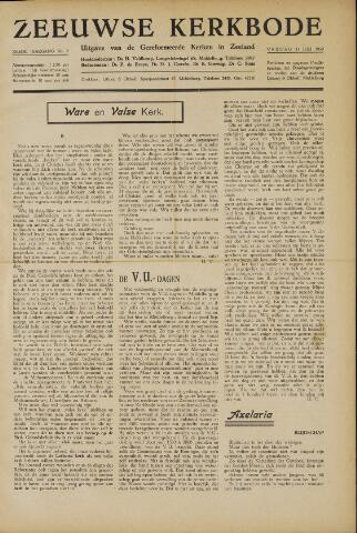 Zeeuwsche kerkbode, weekblad gewijd aan de belangen der gereformeerde kerken/ Zeeuwsch kerkblad 1950-07-14