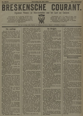 Breskensche Courant 1915-07-31