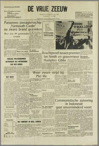 de Vrije Zeeuw 1965-11-15