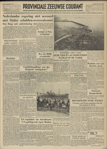 Provinciale Zeeuwse Courant 1953-02-27