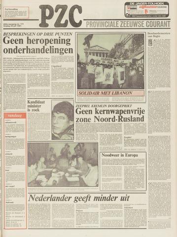 Provinciale Zeeuwse Courant 1981-07-24