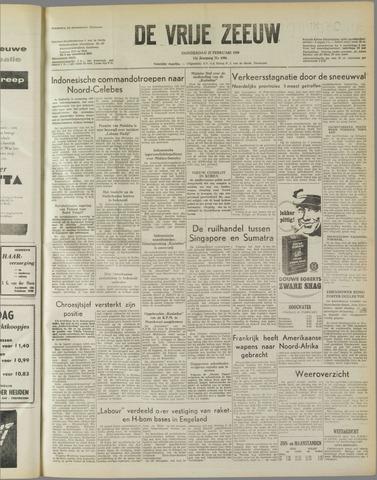 de Vrije Zeeuw 1958-02-27