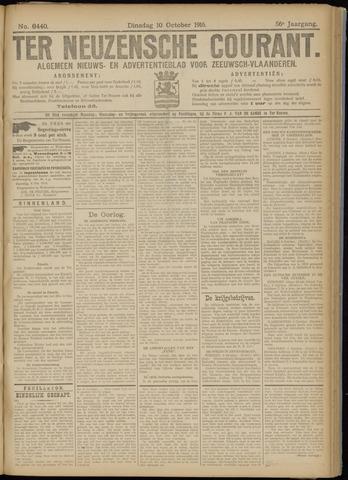 Ter Neuzensche Courant. Algemeen Nieuws- en Advertentieblad voor Zeeuwsch-Vlaanderen / Neuzensche Courant ... (idem) / (Algemeen) nieuws en advertentieblad voor Zeeuwsch-Vlaanderen 1916-10-10