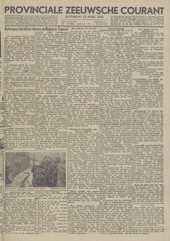 Provinciale Zeeuwse Courant 1943-04-10