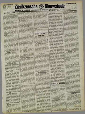Zierikzeesche Nieuwsbode 1921-04-20