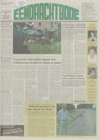 Eendrachtbode (1945-heden)/Mededeelingenblad voor het eiland Tholen (1944/45) 2003-08-21