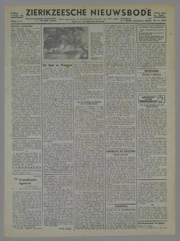 Zierikzeesche Nieuwsbode 1944-02-11
