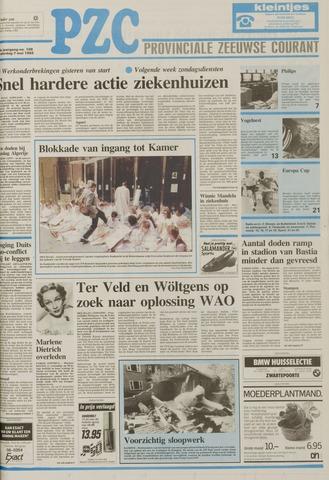 Provinciale Zeeuwse Courant 1992-05-07