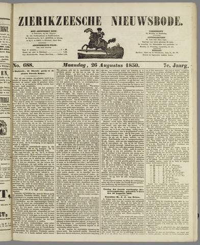 Zierikzeesche Nieuwsbode 1850-08-26