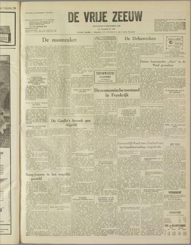 de Vrije Zeeuw 1958-12-08