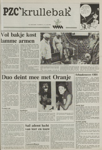 Provinciale Zeeuwse Courant katern Krullenbak (1981-1999) 1994-06-15
