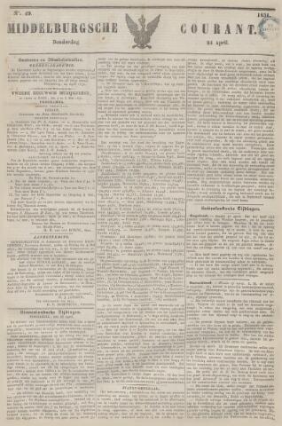 Middelburgsche Courant 1851-04-24