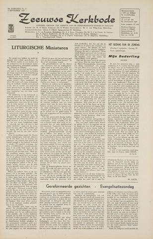 Zeeuwsche kerkbode, weekblad gewijd aan de belangen der gereformeerde kerken/ Zeeuwsch kerkblad 1965-09-03