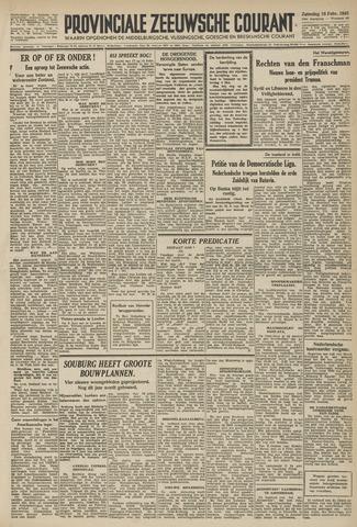 Provinciale Zeeuwse Courant 1946-02-16