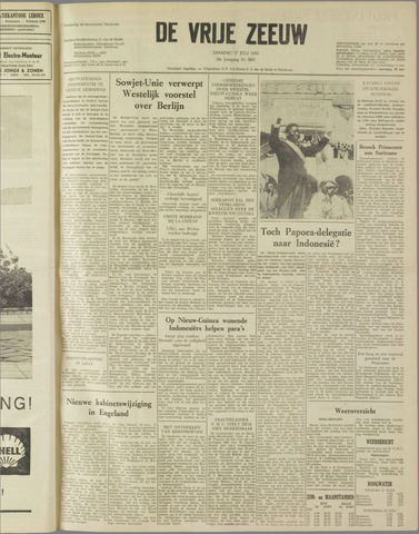 de Vrije Zeeuw 1962-07-17