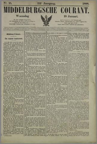 Middelburgsche Courant 1888-01-18
