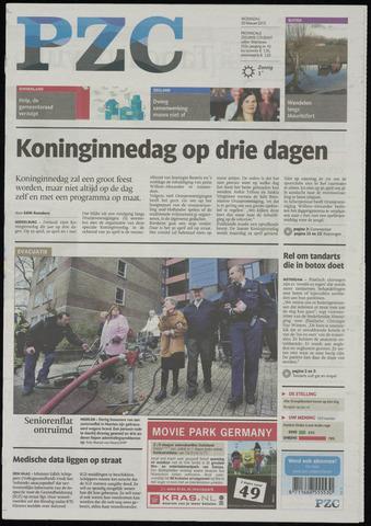Provinciale Zeeuwse Courant 2013-02-20