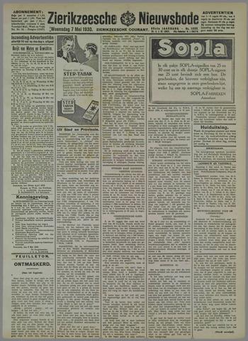 Zierikzeesche Nieuwsbode 1930-05-07